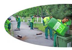 Servicii de salubrizare stradala
