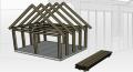 Tâmplărie din lemn pentru construcţii